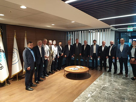 Giriþimci Ýþadamlarý Vakfý (Entrepreneurial Businessmen Foundation) Visited CEOTEKMER Enterprise House